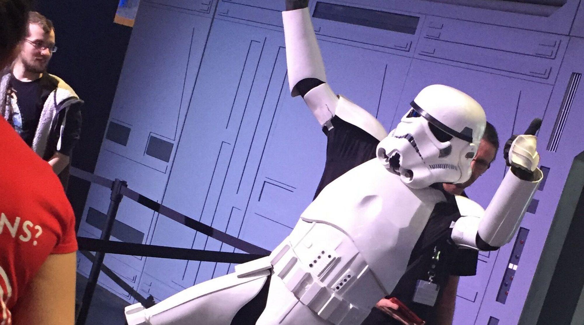 Stormtrooper sind für Nerds ein Muss