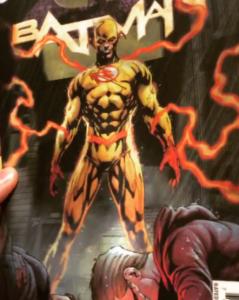 Lenticular Cover von DC Rebirth
