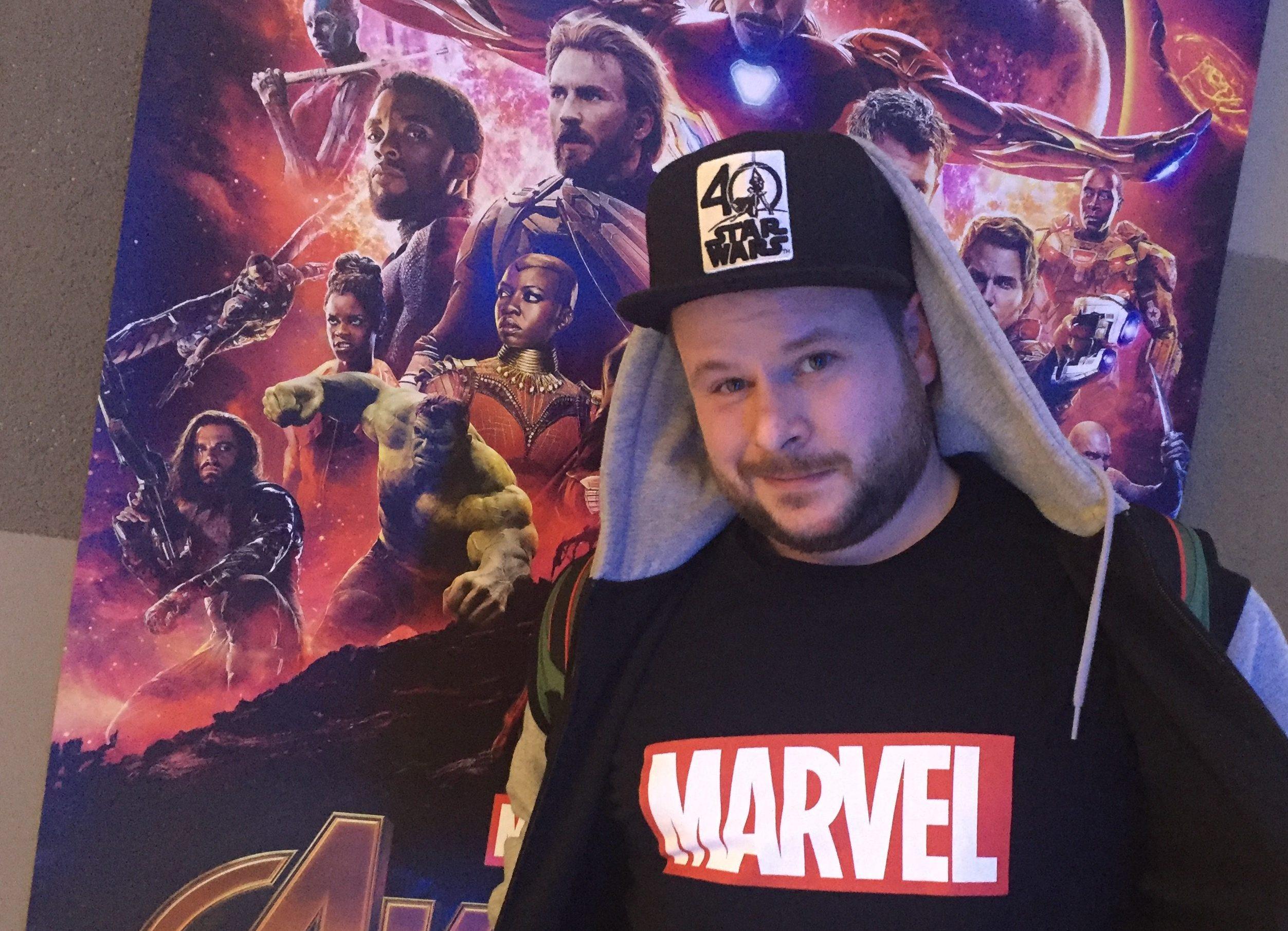 machRADAU hat sich Thanos im Kino gestellt.