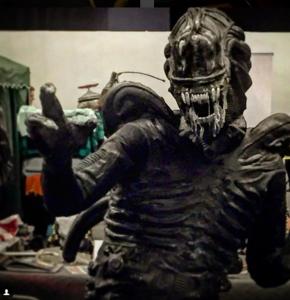 Ein Alien-Cosplay der Stufe: Genial! Wann können wir wieder mit solchen Kalibern im Kino rechnen?