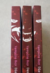 VampireBoy in 3 Bänden
