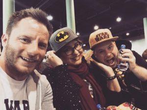 Engin meets machRADAU auf der frankfurter German Comic Con. Und seitdem auch auf anderen Messen gemeinsam zu treffen.
