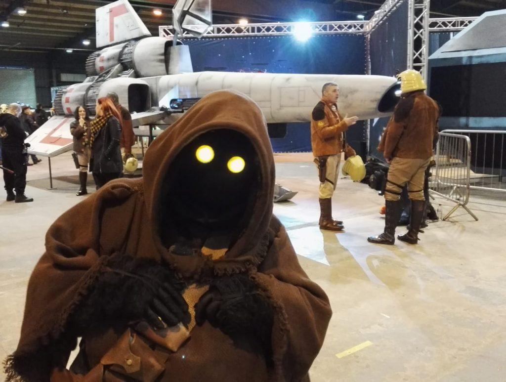 Das Star Wars Universum ist stets mit den Conventions.