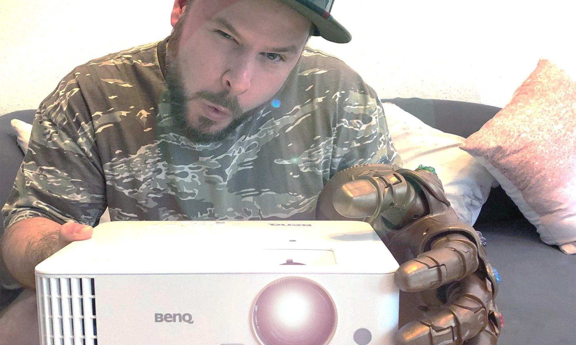 machRADAU mit dem Gaming-Beamer BenQ TH685